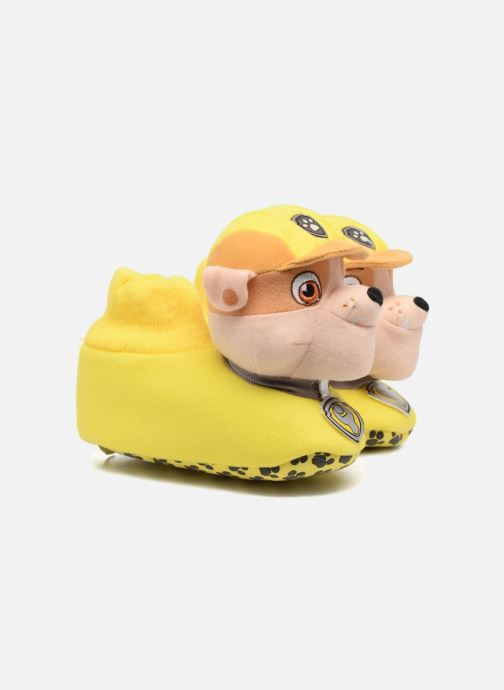 Slippers Pat Patrouille Scottish Yellow detailed view/ Pair view