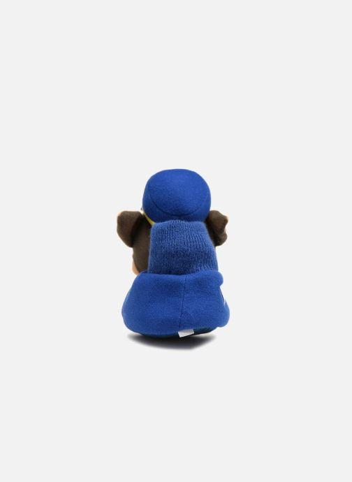 Chaussons Pat Patrouille Scottish Bleu vue droite