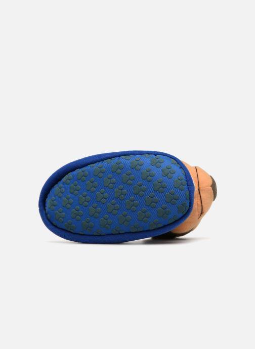 Chaussons Pat Patrouille Scottish Bleu vue haut