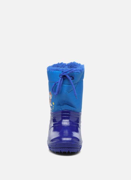 Chaussures de sport Pat Patrouille Sonet Bleu vue portées chaussures