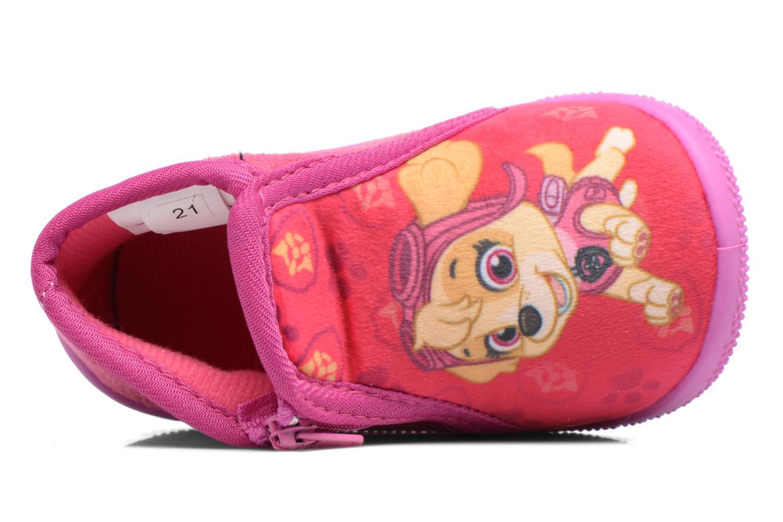 Pantofole Pat Patrouille Sita Rosa immagine sinistra