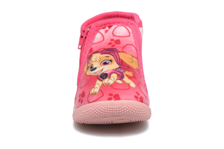 Chaussons Pat Patrouille Sita Rose vue portées chaussures
