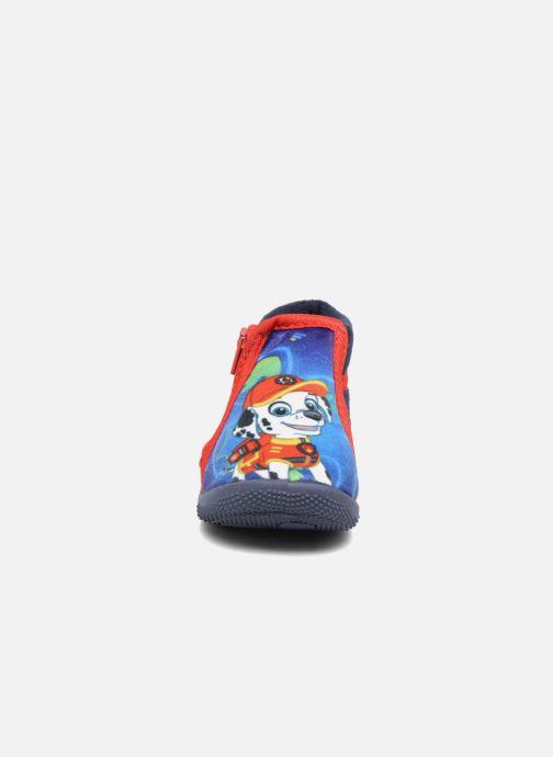 Chaussons Pat Patrouille Soni Bleu vue portées chaussures