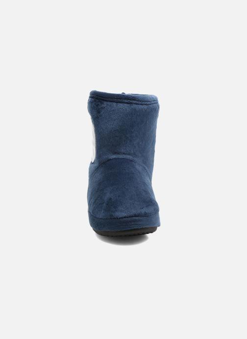 Chaussons Pat Patrouille Stefano Bleu vue portées chaussures