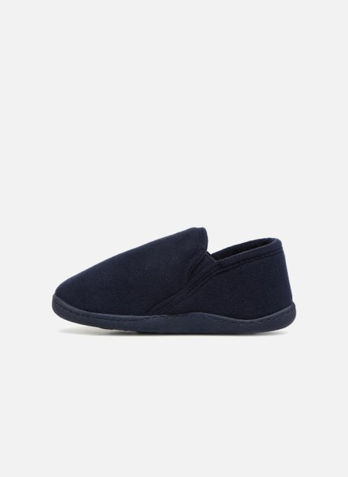 Slippers Isotoner Mocassin Blue front view