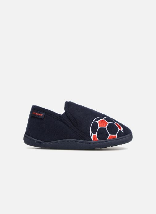 Pantofole Isotoner Mocassin Azzurro immagine posteriore