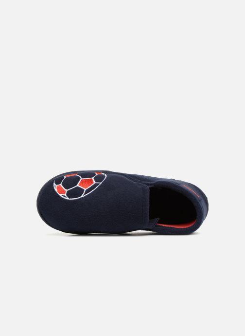 Pantofole Isotoner Mocassin Azzurro immagine sinistra