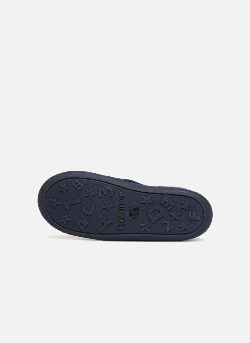 Pantofole Isotoner Mocassin Azzurro immagine dall'alto
