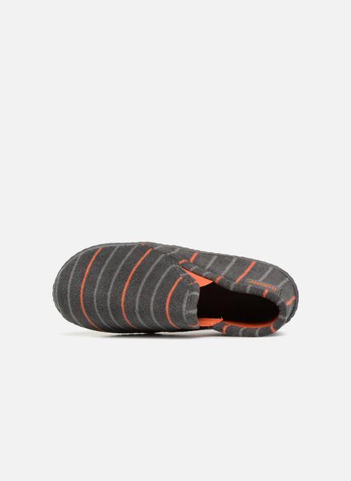 Pantofole Isotoner Mocassin Grigio immagine sinistra