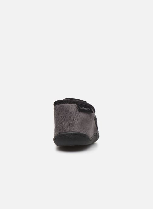 Pantofole Isotoner Mocassin Grigio immagine destra