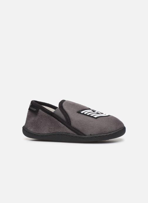 Pantofole Isotoner Mocassin Grigio immagine posteriore