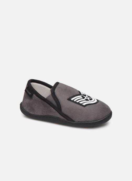 Pantofole Isotoner Mocassin Grigio vedi dettaglio/paio