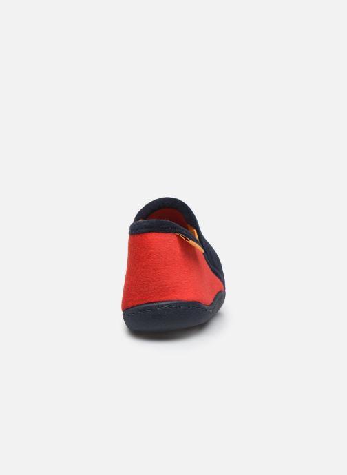 Pantofole Isotoner Mocassin Azzurro immagine destra