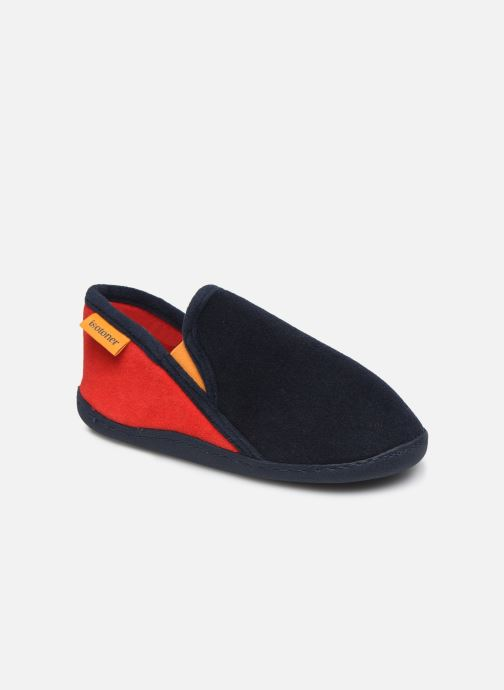 Pantofole Isotoner Mocassin Azzurro vedi dettaglio/paio
