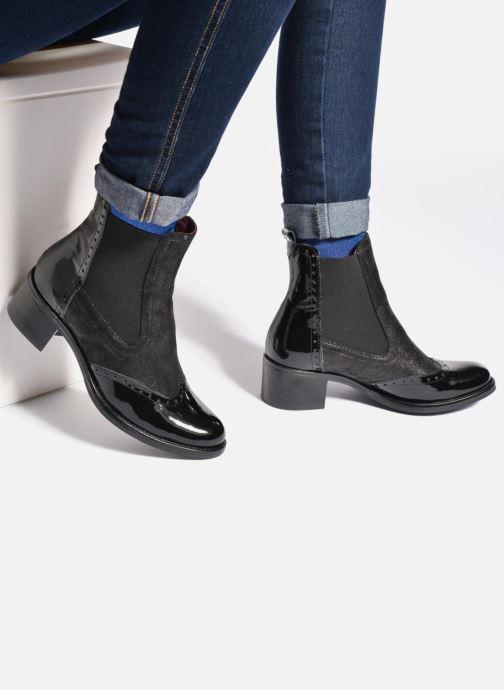 Georgia Rose Napoli (Bleu) Bottines et boots chez Sarenza