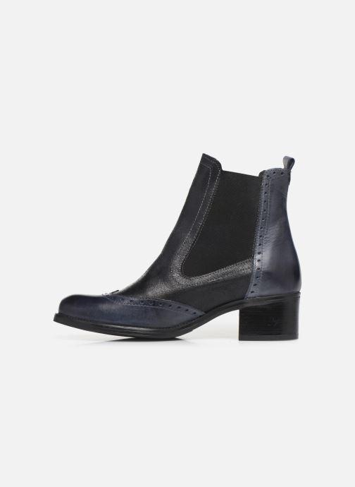 Bottines et boots Georgia Rose Napoli Bleu vue face