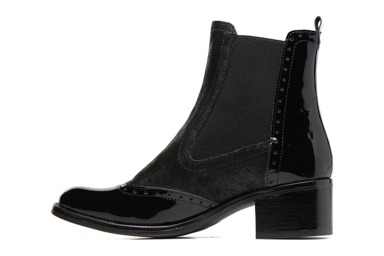 Bottines et boots Georgia Rose Napoli Noir vue face