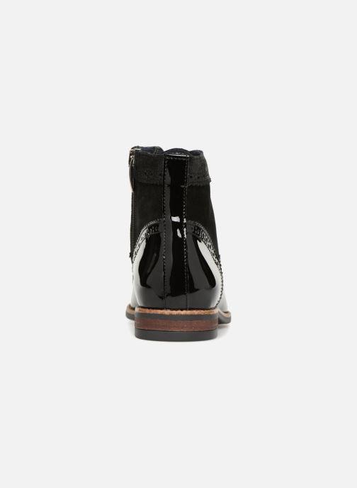 Bottines et boots Georgia Rose Navola Noir vue droite