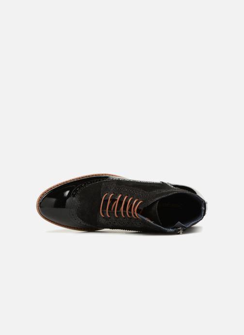 Bottines et boots Georgia Rose Navola Noir vue gauche