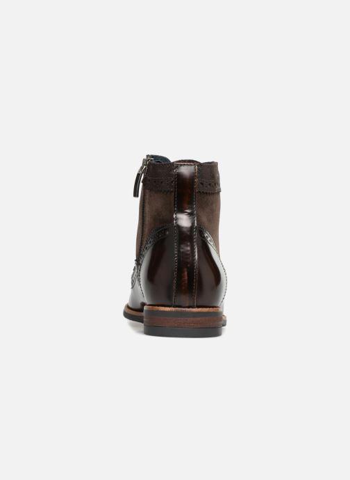 Bottines et boots Georgia Rose Navola Marron vue droite