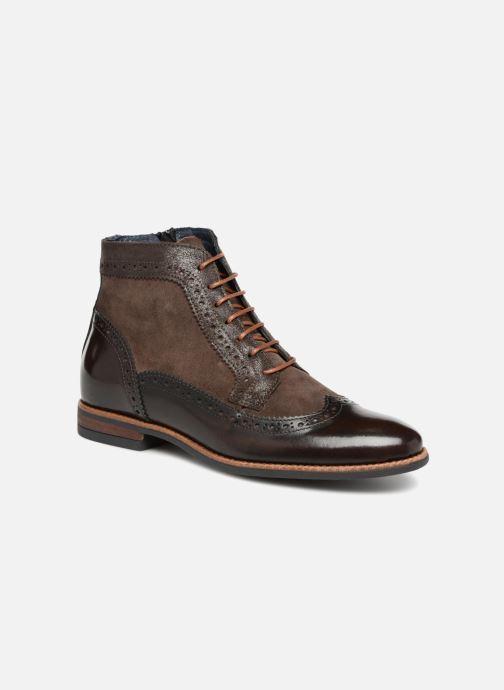 Bottines et boots Georgia Rose Navola Marron vue détail/paire