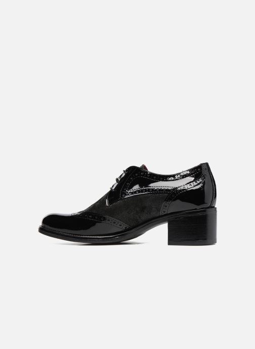 Chaussures à lacets Georgia Rose Nepri Noir vue face