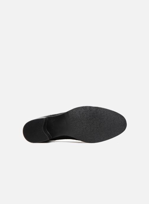 Chaussures à lacets Georgia Rose Nepri Noir vue haut