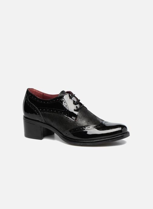 Chaussures à lacets Georgia Rose Nepri Noir vue détail/paire
