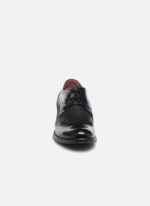 Chaussures à lacets Georgia Rose Nepri Bleu vue portées chaussures