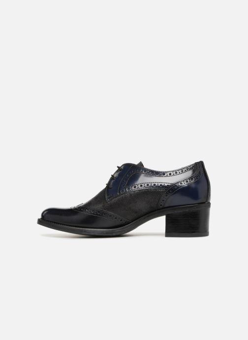 Chaussures à lacets Georgia Rose Nepri Bleu vue face