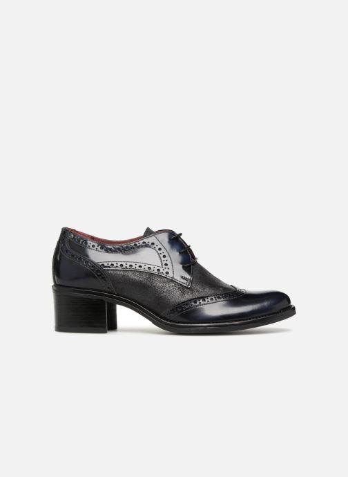 Chaussures à lacets Georgia Rose Nepri Bleu vue derrière