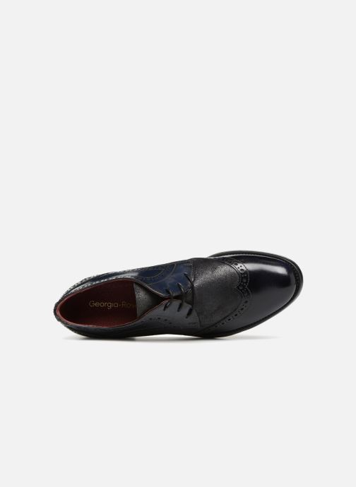 Chaussures à lacets Georgia Rose Nepri Bleu vue gauche