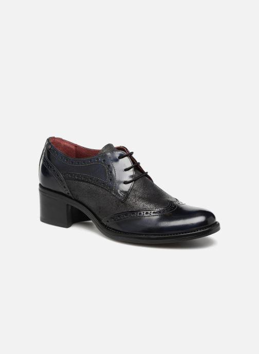 Chaussures à lacets Georgia Rose Nepri Bleu vue détail/paire