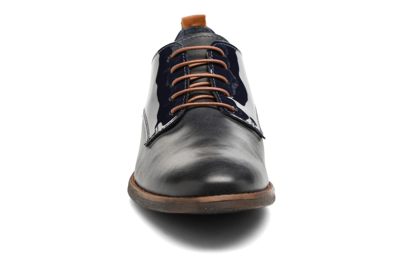 Chaussures à lacets Georgia Rose Neverni Bleu vue portées chaussures