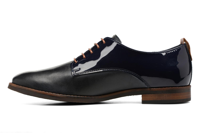 Chaussures à lacets Georgia Rose Neverni Bleu vue face
