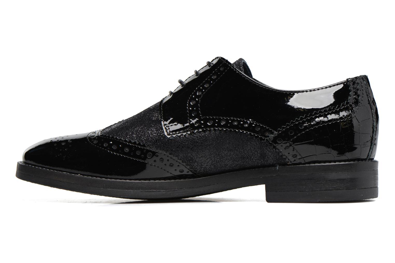 Chaussures à lacets Georgia Rose Nirvane Noir vue face