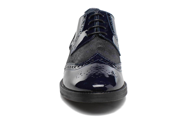 Chaussures à lacets Georgia Rose Nirvane Bleu vue portées chaussures