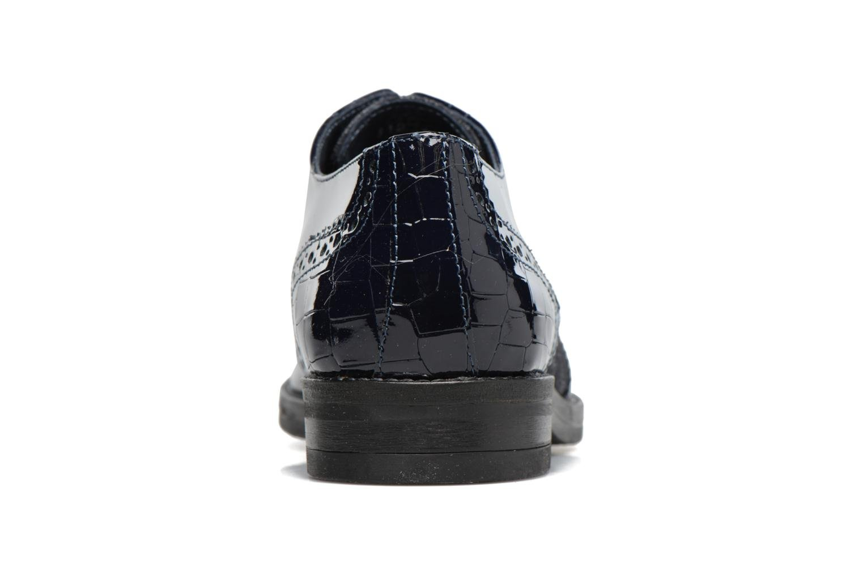 Chaussures à lacets Georgia Rose Nirvane Bleu vue droite