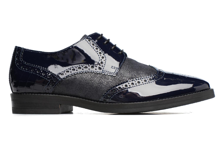 Chaussures à lacets Georgia Rose Nirvane Bleu vue derrière