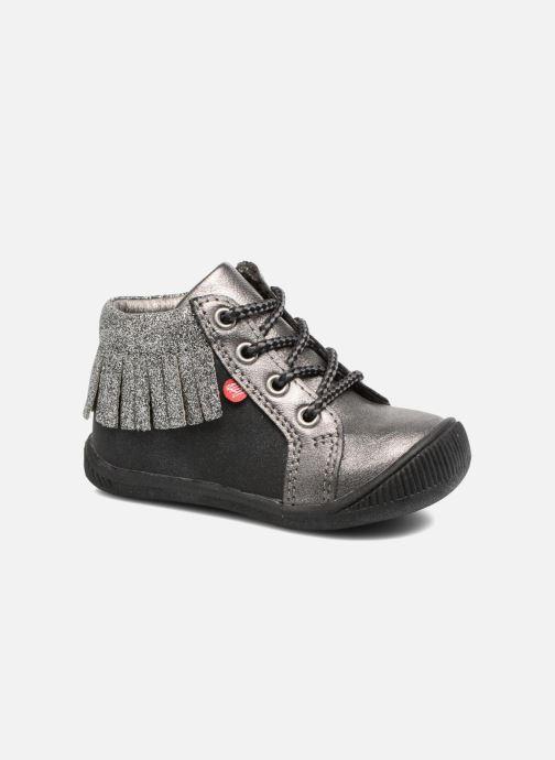 Boots en enkellaarsjes NA! Arina Zilver detail