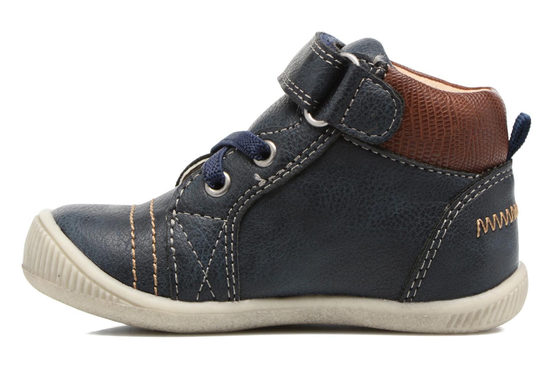 Boots en enkellaarsjes NA! Axel Blauw voorkant