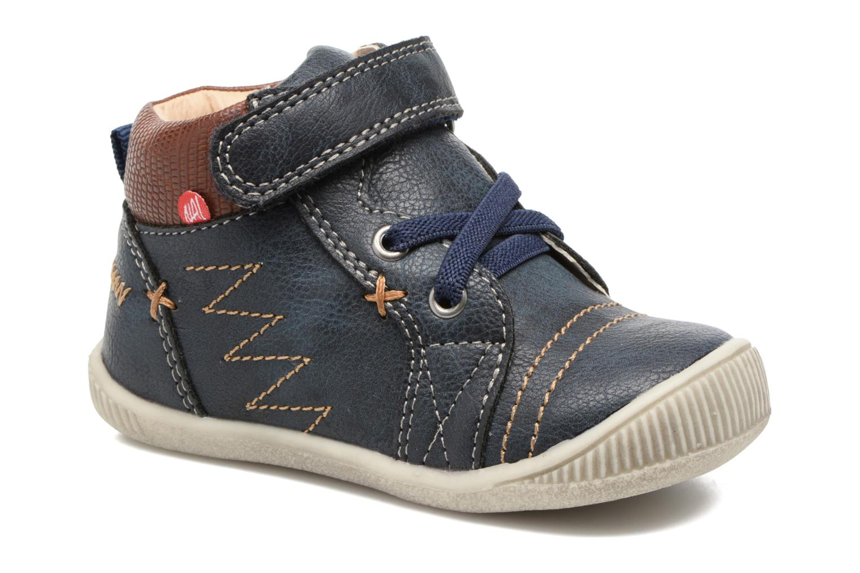 Boots en enkellaarsjes NA! Axel Blauw detail