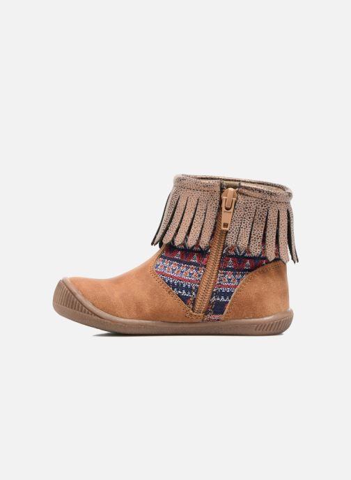 Boots en enkellaarsjes NA! Aria Bruin voorkant