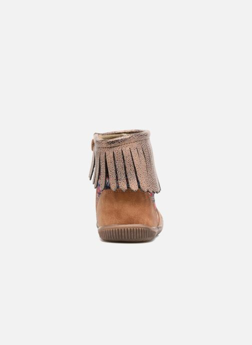 Bottines et boots NA! Aria Marron vue droite