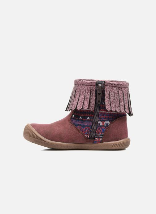 Ankle boots NA! Aria Burgundy front view