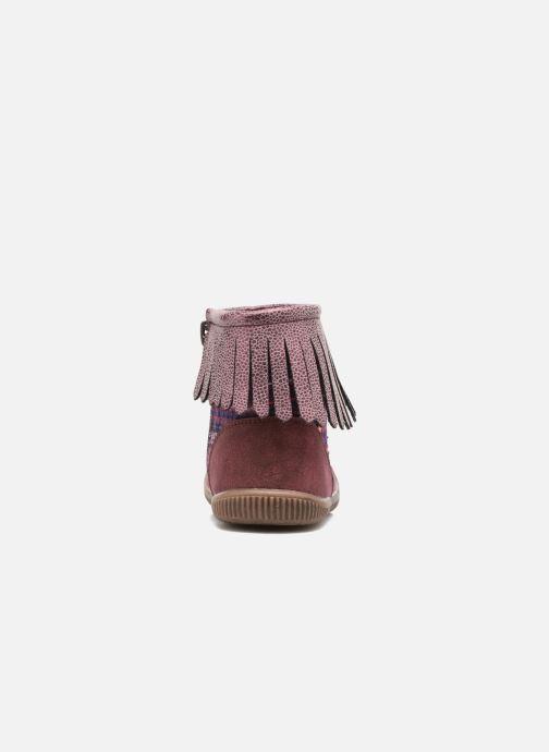 Bottines et boots NA! Aria Bordeaux vue droite