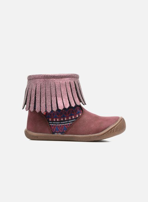 Ankle boots NA! Aria Burgundy back view