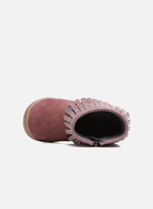 Bottines et boots NA! Aria Bordeaux vue gauche