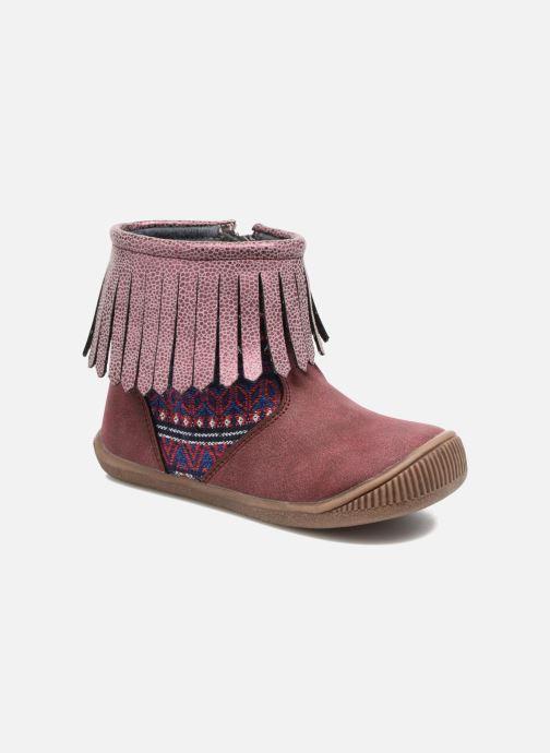 Bottines et boots NA! Aria Bordeaux vue détail/paire