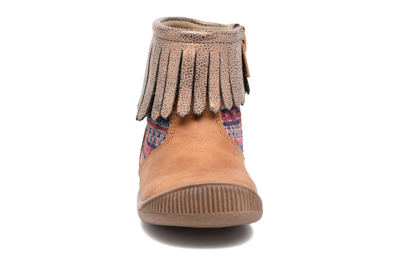 Boots en enkellaarsjes NA! Aria Bruin model
